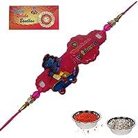 Send Gift Rakhi RakshaBandhan Fancy Rakhi Designer Rakhi Lovely Brother Best Friend Krishna Cartoon Kids Rakhi... - B01JW8ZEZQ