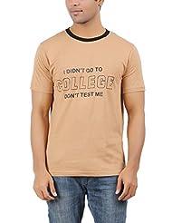 DK Clues Men's Round Neck Cotton T-Shirt - B00XN6VS04