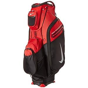 Nike Golf Performance Cart II Golf Bag University Red/White/Black