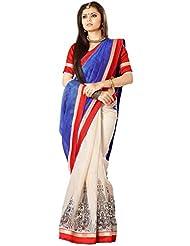 Floral Silk Saree Collections-Blue-RKVS29006-VS-Art Silk