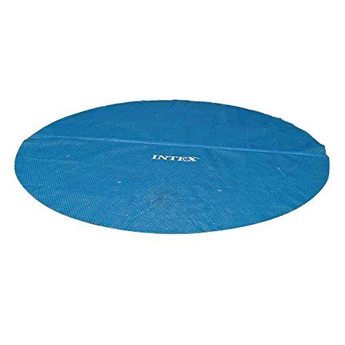 Solarabdeckplane für Easy & Frame Pool, Blau, Ø 366 cm