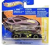 MEGANE TROPHY (BLACK) * 2010-2011 Hot Wheels #16/244 HW Premiere 16/50 1:64-scale car on SHORT CARD