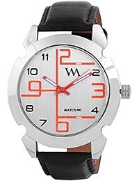 Watch Me White Men Genuine Leather Swiss Wrist Watch Watch Me-070-Ox