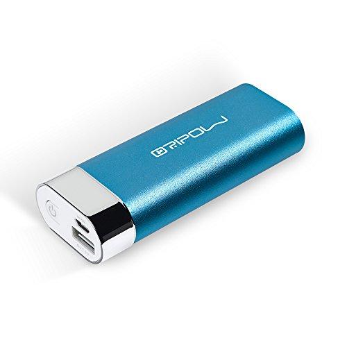 Oripow Spark Mini 6400mAh モバイルバッテリー コンパクト 軽量 小型 大容量 アルミ合金質 急速 (ブルー)