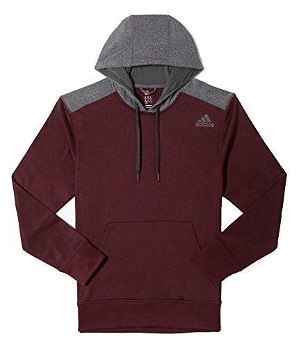 adidas Performance Men's Ultimate Fleece Pullover Hoodie, Ma