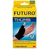 3M Health Care 45843EN FUTURO Deluxe Thumb Stabilizer, Small/Medium, Black (Pack Of 12)