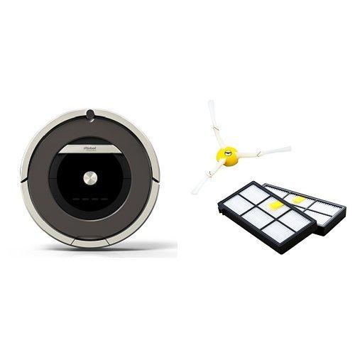 iRobot Roomba 自動掃除機ルンバ870 ピューターグレー 870 【日本仕様正規品】 エッジクリーニングブラシ1個・フィルター2枚セット