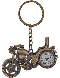 Kairos Designer Motor Bike Watch Key Chain Bronze Clock Keychain (KC-NewMotorBike-Watch )