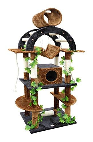 Go Pet Club F2096 Luxury Climber Cat Tree, 71