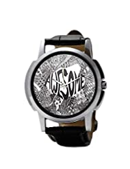 PosterGuy Awesome Line Art Men's Wrist Watches
