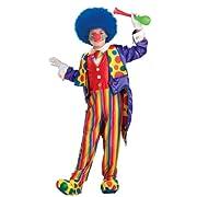Child Designer Classy Clown Costume - Child Large