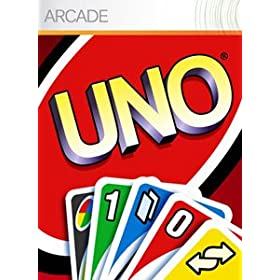 Uno video game for XBox 360