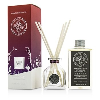 The Candle Company Reed Diffuser With Essential Oils - Candied Fruits- 100ml/3.38oz