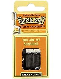 Kikkerland You've Got A Friend Crank Music Box