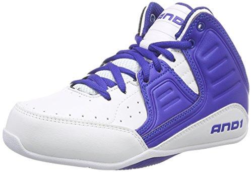 247d238d076 AND1 ROCKET 4 MID Boy s - Zapatos de baloncesto de material sintético  Niños Niñas