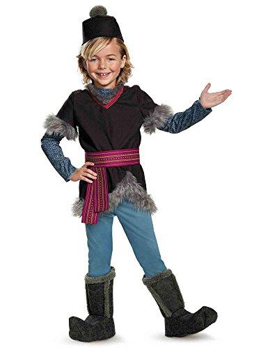 Disguise Kristoff Deluxe Child Frozen Disney Costume, Small/4-6