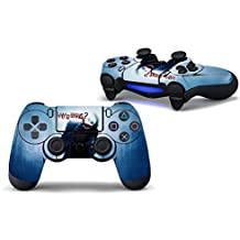 Elton PS4 Controller Designer 3M Skin For Sony PlayStation 4 DualShock Wireless Controller - Joker Why So Serious, Skin For One Controller Only