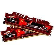 G.Skill RipjawsX F3-14900CL9D-8GBXL 8GB 2 X 4GB DDR3 1866MHz Desktop Memory Module