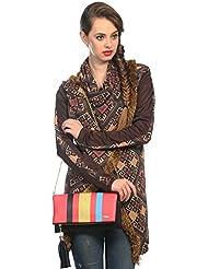 Mix N Match Multi Stylish Folder Clutch Fashion Bag With Multi Pocket - B01IBJWNME