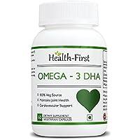 Health-first DHA Vegan Omega3- 500mg,60 Capsules (60 Capsules)