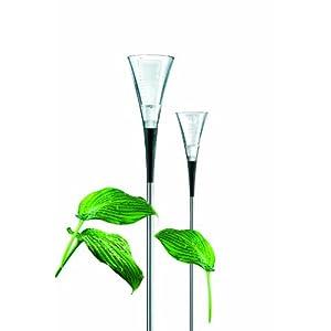 Eva Solo Glass Rain Gauge with Steel Rod