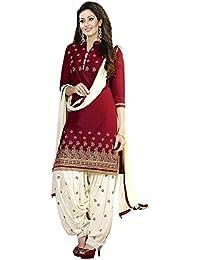 Shiroya Brothers Women's Cotton Printed Unstitched Regular Wear Salwar Suit Dress Material
