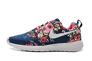 Amazon.com : Nike Rosh Run Flowers Women's Running Shoes
