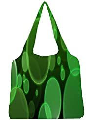 Snoogg Bubbles Design 2381 Womens Jhola Shape Tote Bag