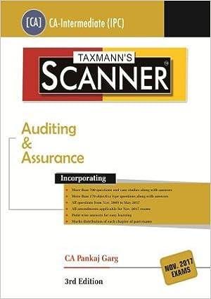Taxmann's Scanner on Auditing & Assurance