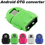 Aeoss Micro Usb To USB OTG Adapter Cute Little OTG Adapter Micro USB OTG To USB 2.0 Adapter For Smartphones &...