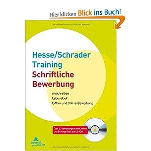 Hesse/Schrader-Training Schriftliche Bewerbung