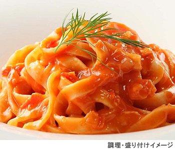 ヤヨイ Oliveto 業務用 生パスタ・蟹のトマトソース 1食(260g)