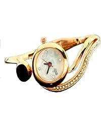EBI Esidon Beautyful Fancy Diamond Rose Gold Kada Women Watch
