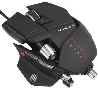 [Win8/Mac対応] R.A.T. 7 マウス マットブラック プレミアム多機能6400dpiレーザー 長さ、幅、高さ、重さを手の大きさや好みに合わせて変えられるトランスフォームメカ搭載 (MC-R7-MB)