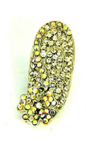 6f76958cd VAMA FASHIONS Fancy Brooch Saree Pin With White Stones Best Deals ...