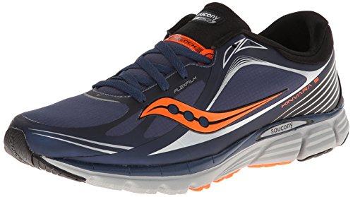 Saucony Men's Kinvara 5 Runshield Running Shoe,Navy/Vizioran