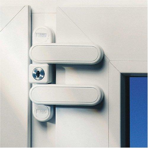 Burg Wächter Fenstersicherung weiß WD 3 W SB, Herstellerbestellnummer: 302514 - 2