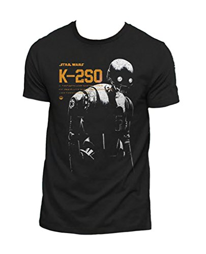 Star Wars Rogue One K2S0 Droid Robot Official Tee T-Shirt Mens Unisex (Officially Licensed)