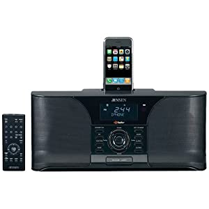 Jensen Jims-525I Docking Digital Hd Radio(Tm) System With Itunes(Tm) Tagging For Ipod(R) & Iphone(Tm)