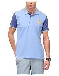 Yepme Men's Polo Cotton T-shirt - B00O32X2MO