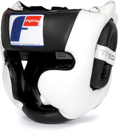 Fighting Sports Tri-Tech Full Training Headgear, REG