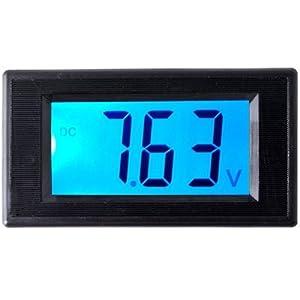 LCD Digital Volt Voltage Panel Meter Voltmeter 7.5V-20V