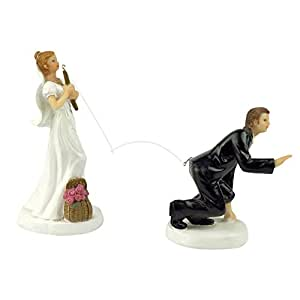 funny indian wedding cake toppers buy yepmax fishing wedding cake toppers 14553
