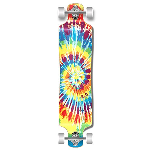 Punked Lowrider Drop Down Through Longboard Complete  Skateboard