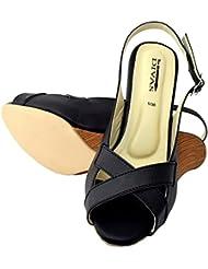 New Divas Cross Strap Wedge Sandal