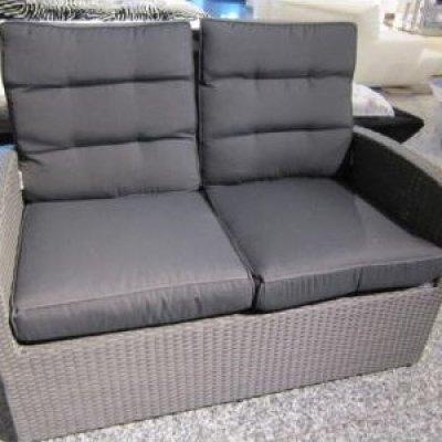 Hartman Springfield 2-Sitzer Lounge-Sofa anthrazit inkl. Kissen 65319744