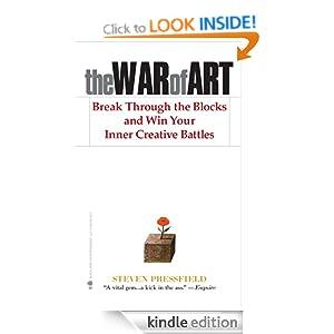 The War of Art: Winning the Inner Creative Battle