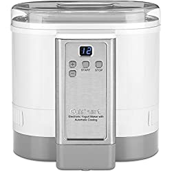 CYM-100C Cuisinart Electronic Yogurt Maker with Automatic Cooling