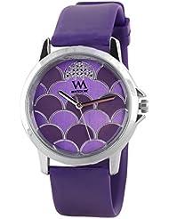Watch Me Purple Rubber Analogue Watch For Women WMAL-092-PR - B01KIEJK0I