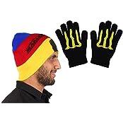 Unisex Trendy Winter Cap With Hand Gloves